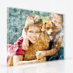 acrylic glass photo mosaic