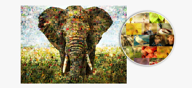 what is a photo mosaic