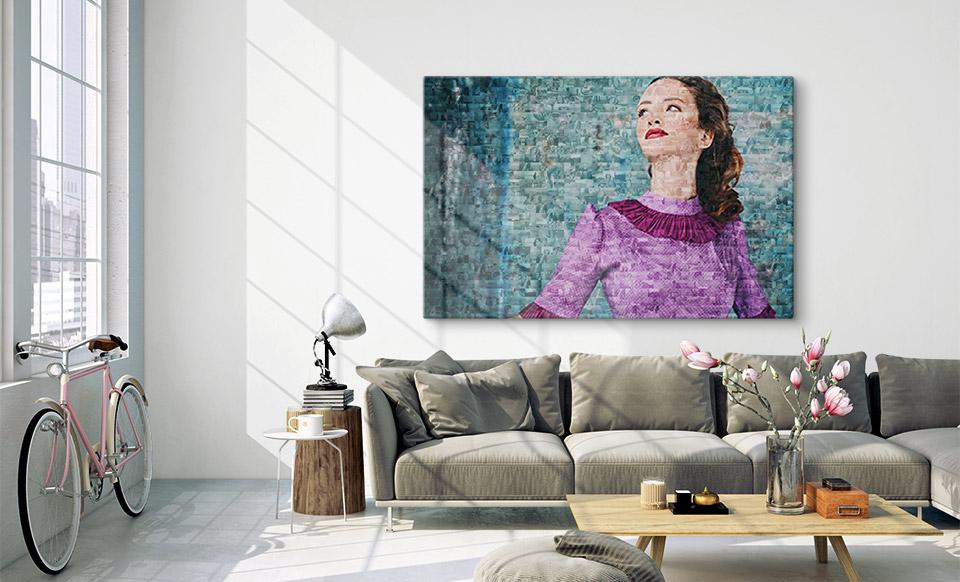 photo mosaic maker room