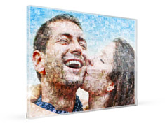 print teaser acrylic glass